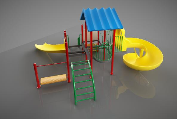 现代幼儿游乐设施