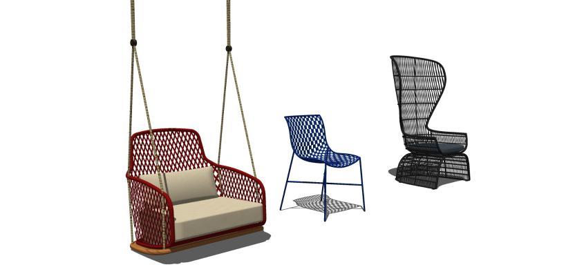 北欧吊椅 休闲椅 椅子