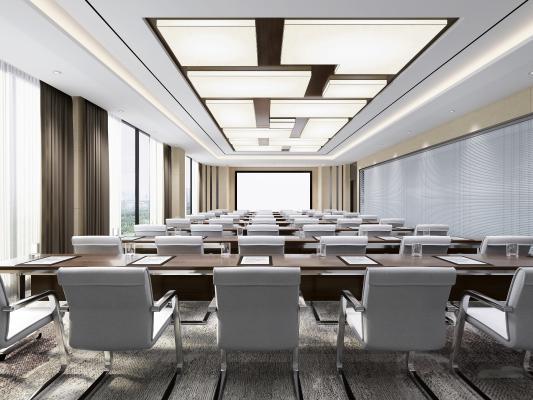 现代大会议室