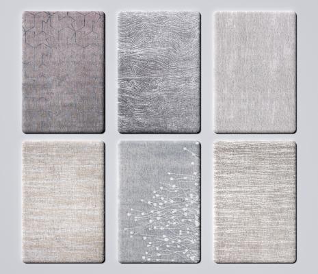 现代布艺地毯 布艺地毯