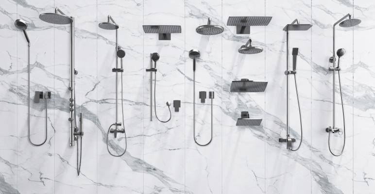 现代淋浴花洒
