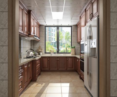 美式厨房 橱柜