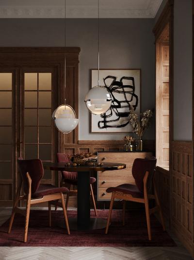 现代复古餐厅