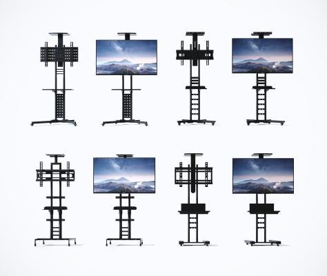 现代电视支架