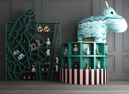 现代书柜 儿童创意书柜 书架 读物