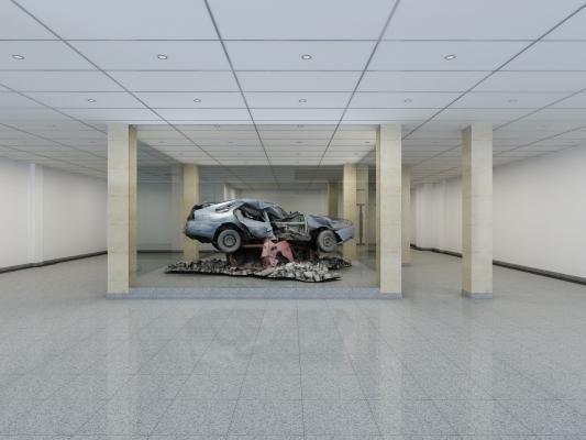 现代报废汽车展厅