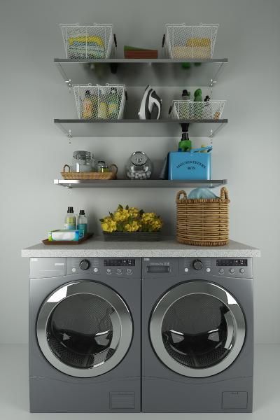 现代洗衣机 摆件