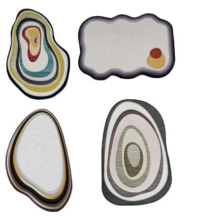 现代个性异形地毯