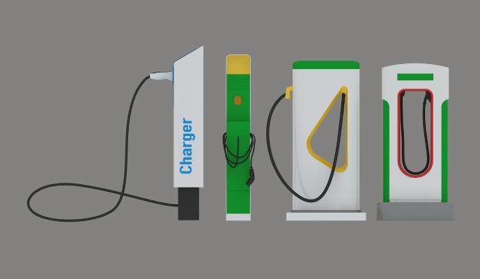 现代充电桩