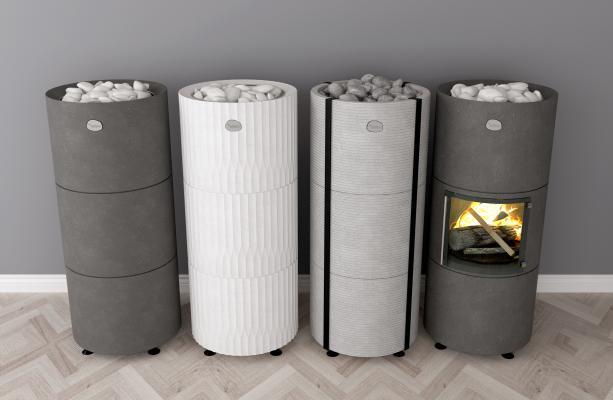 现代桑拿碳炉