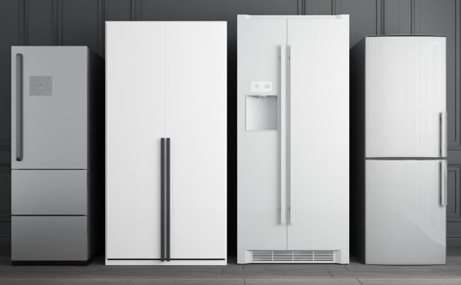 现代风格冰箱冰柜