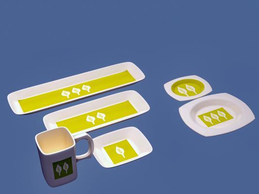 现代厨房用品 碟子