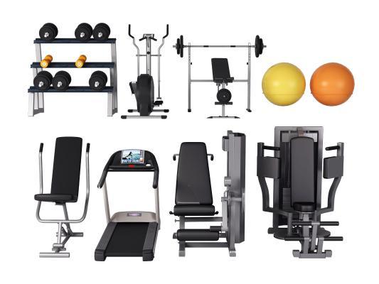 现代健身器材 跑步机 运动器械