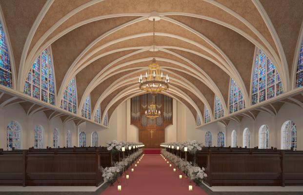 欧式古典婚礼教堂