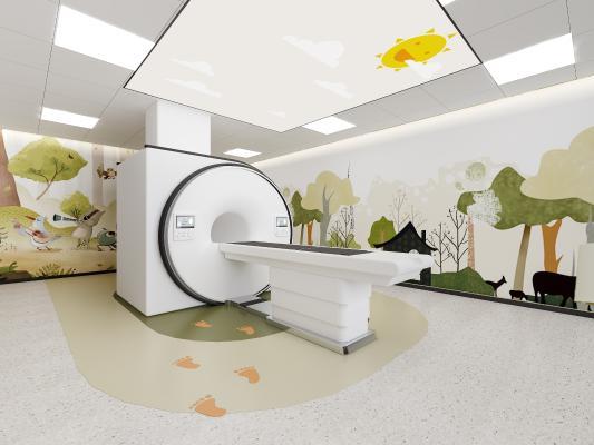 現代风格医疗器材 儿童医疗室