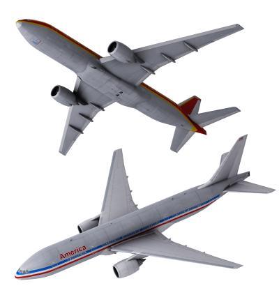 现代客机 波音客机