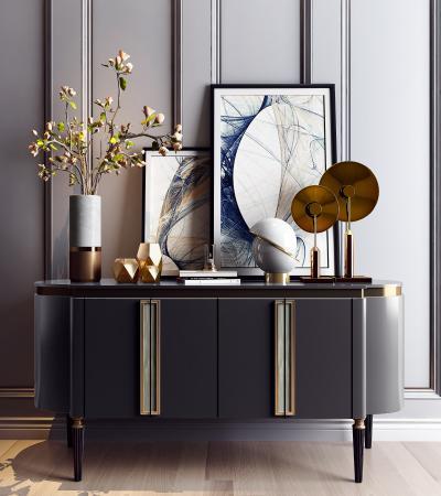 现代简欧装饰柜