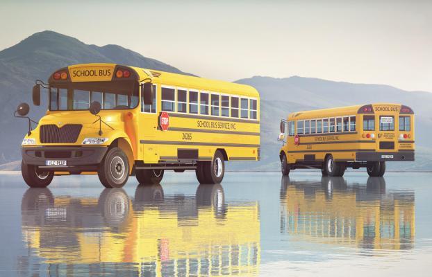现代校车大巴车