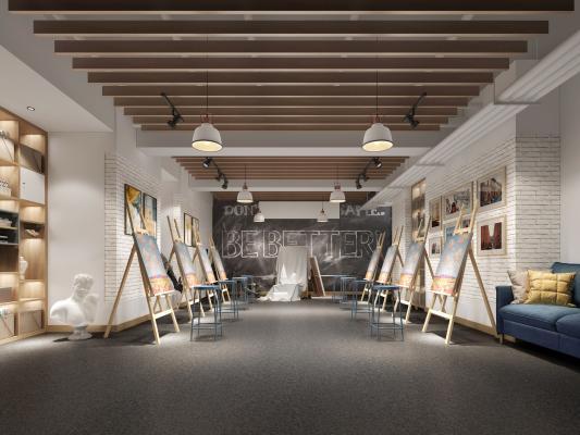 现代美术室