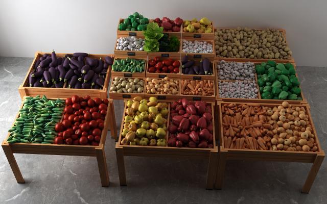 现代蔬菜组合