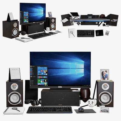 现代电脑 显示器 音响
