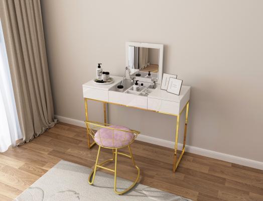 现代风格梳妆台 梳妆凳