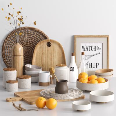 北歐碗碟砧板廚房器具