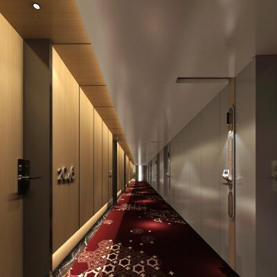 现代风格酒店走廊