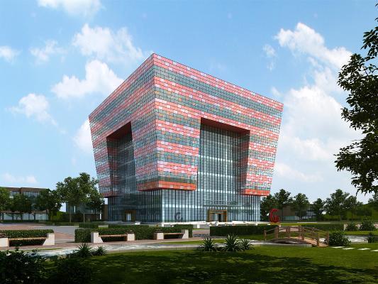 现代建筑 公共建筑 图书馆