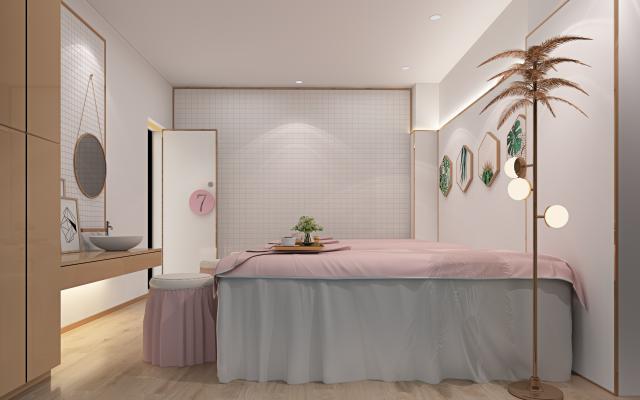 现代spa会所 理疗室