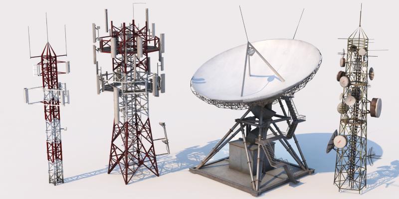 現代信號塔 發電機 電纜