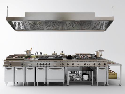 现代不锈钢烤箱