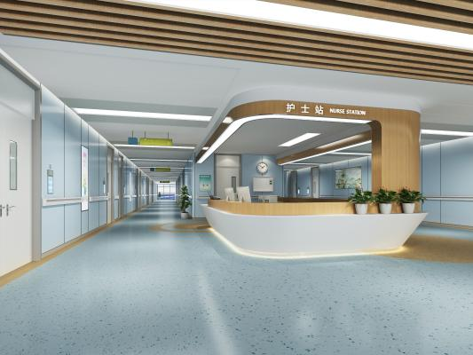 现代医院护士站