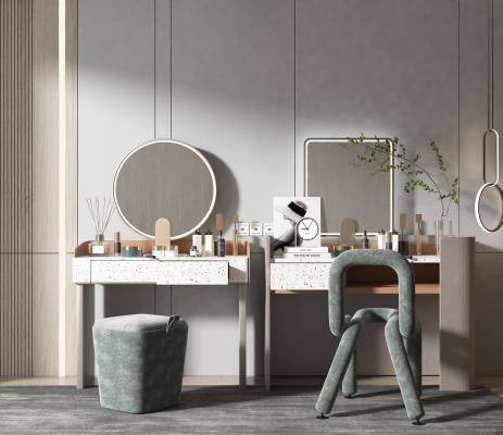 现代风格梳妆台