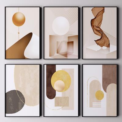 现代艺术挂画 装饰画 抽象画