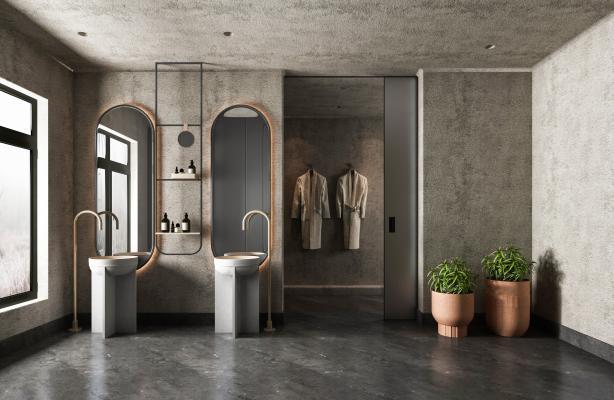 现代卫生间
