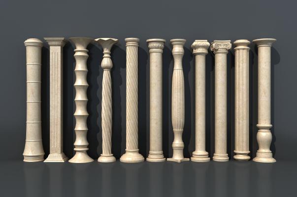 欧式罗马柱组合