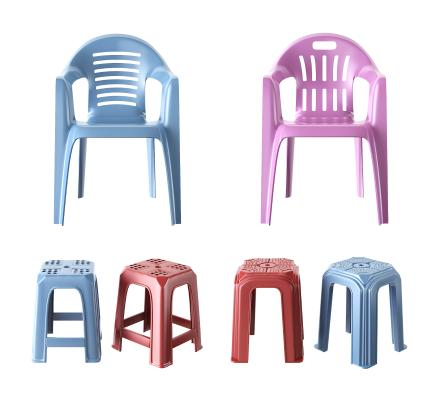 现代餐饮排挡塑料椅子 沙滩椅 凳子