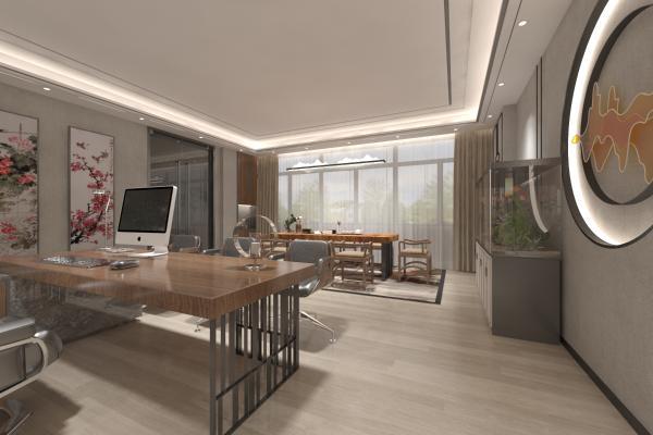 新中式茶室办公室