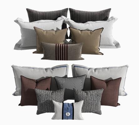 新中式抱枕组合