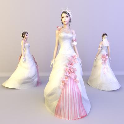 现代新娘人物