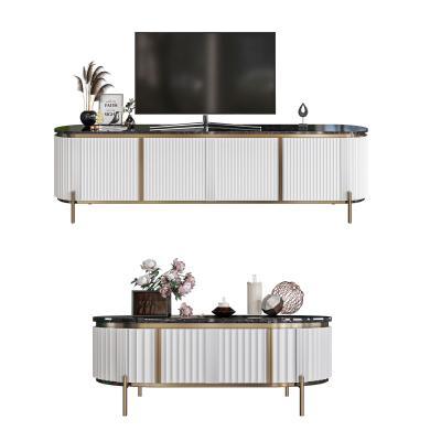 现代轻奢电视柜 茶几组合 装饰品 装饰画