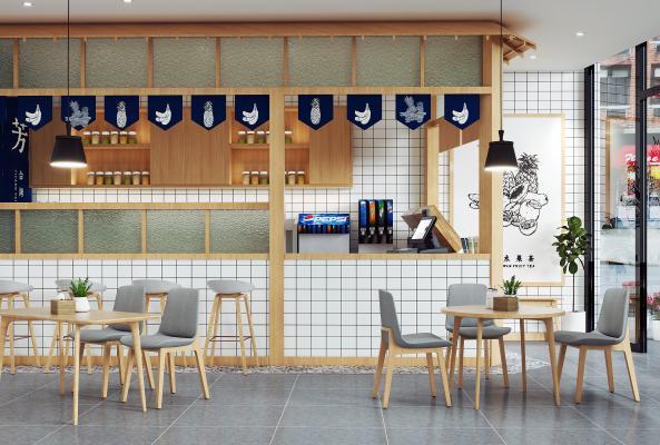 日式飲品店