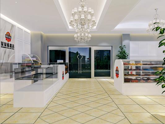 现代面包店