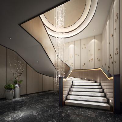 现代楼梯间