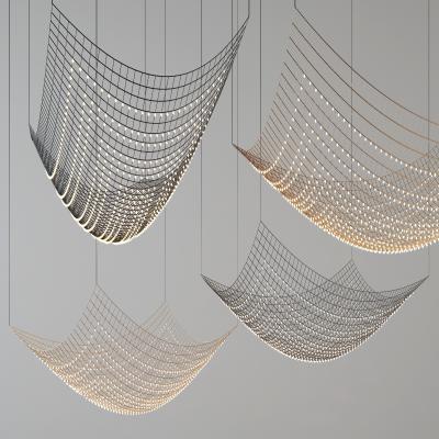 现代网吊灯