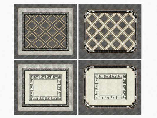 新中式瓷砖拼花