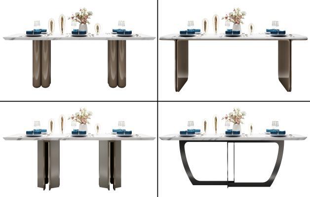 现代餐桌组合