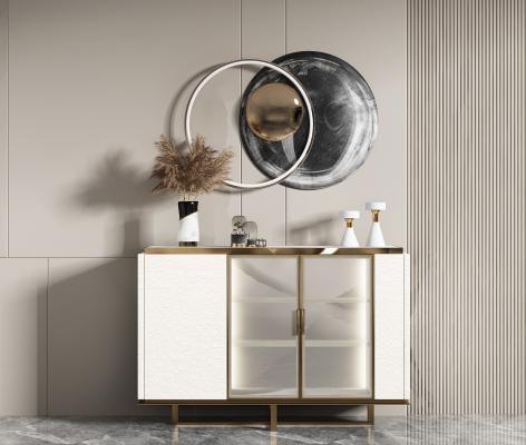 现代 装饰柜