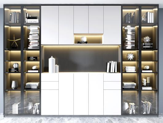 现代装饰柜 高柜